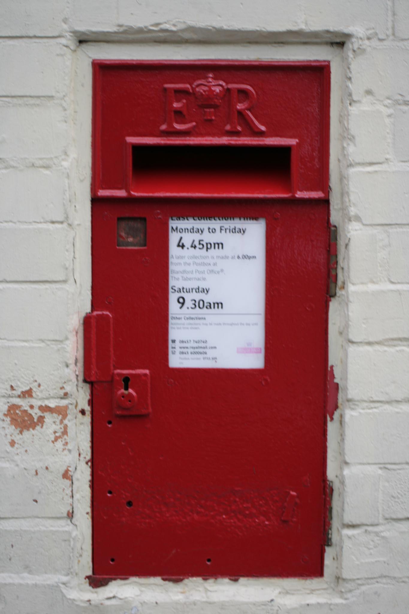E2R Ludlow wall box, 1950s, Dorset. Robert Cole