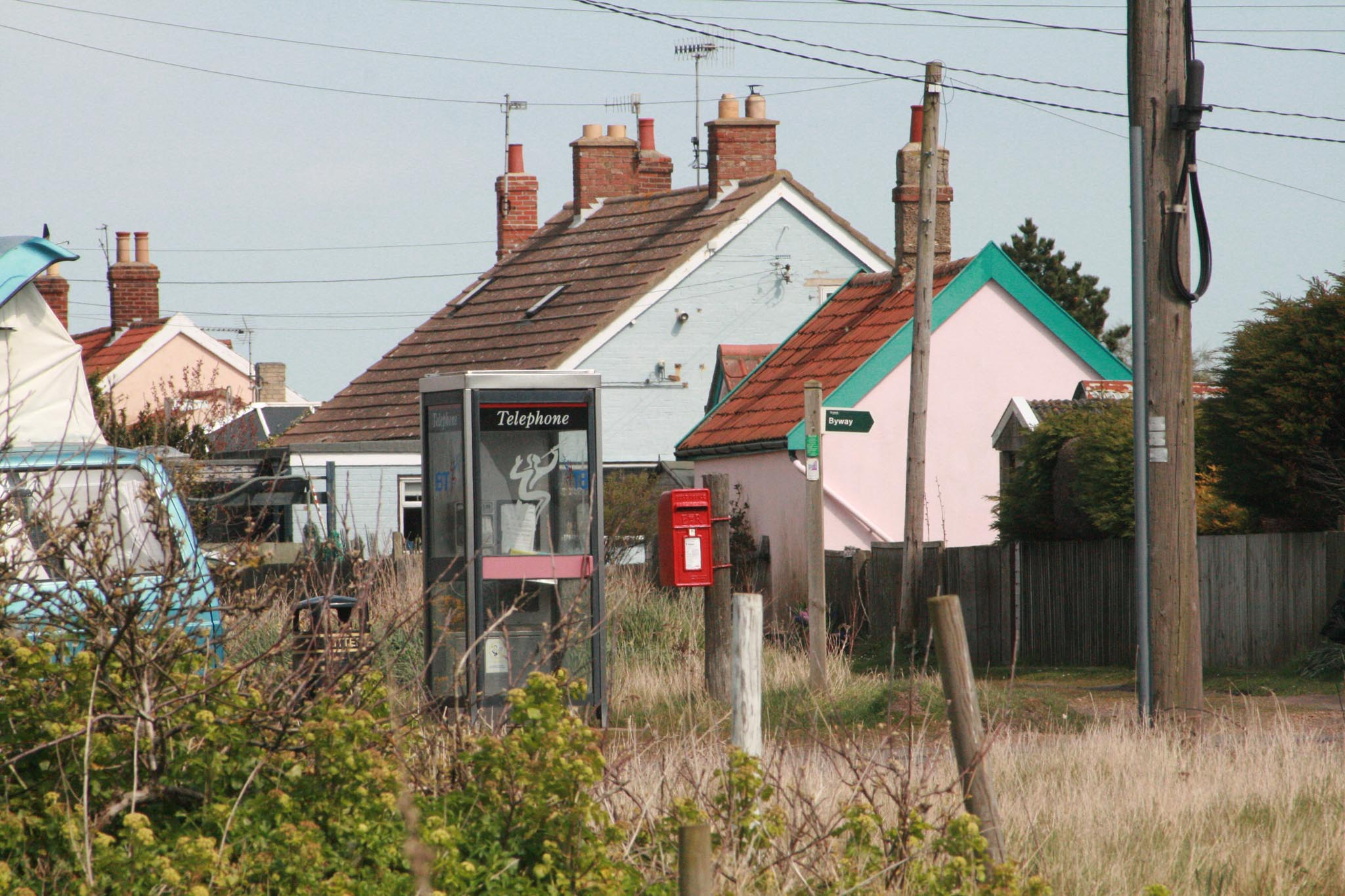 E2R lamp box, 1980s, Suffolk. Robert Cole