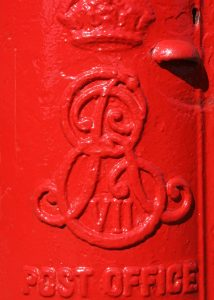 E7R pillar box cipher, 1900s. Robert Cole