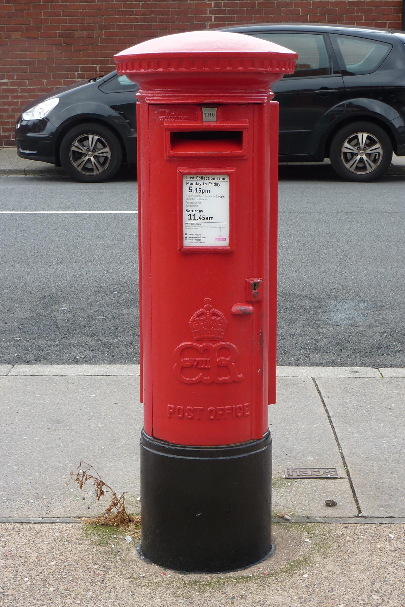 E8R pillar box, 1930s. Andrew R Young