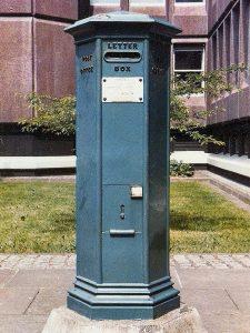VR pillar box, 1850s. Martin Robinson
