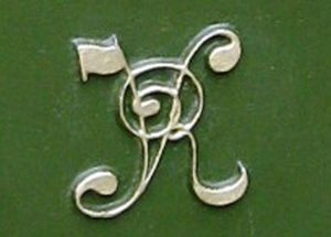 VR Penfold pillar box cipher, 1870s, Paul Snelling