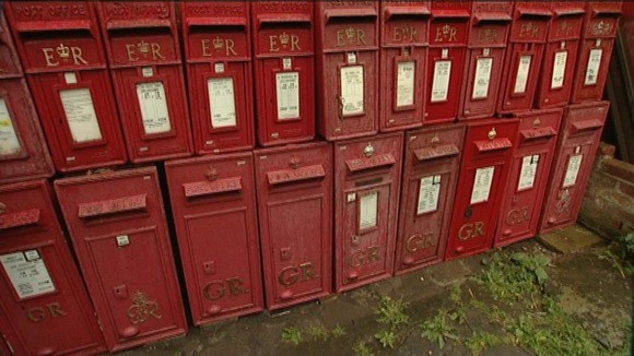 A shed load of postboxes