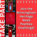 Birmingham Heritage Week Postbox Challenge