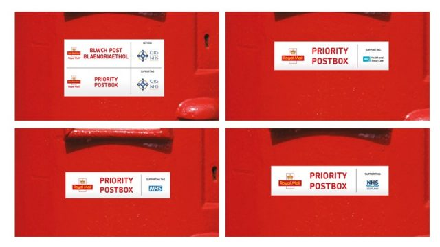 Priority Postbox Labels